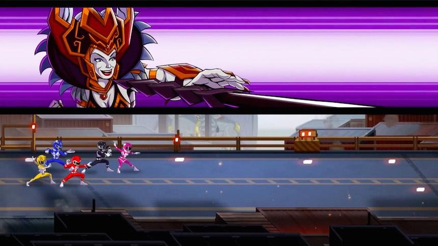 Power Rangers: Mega Battle