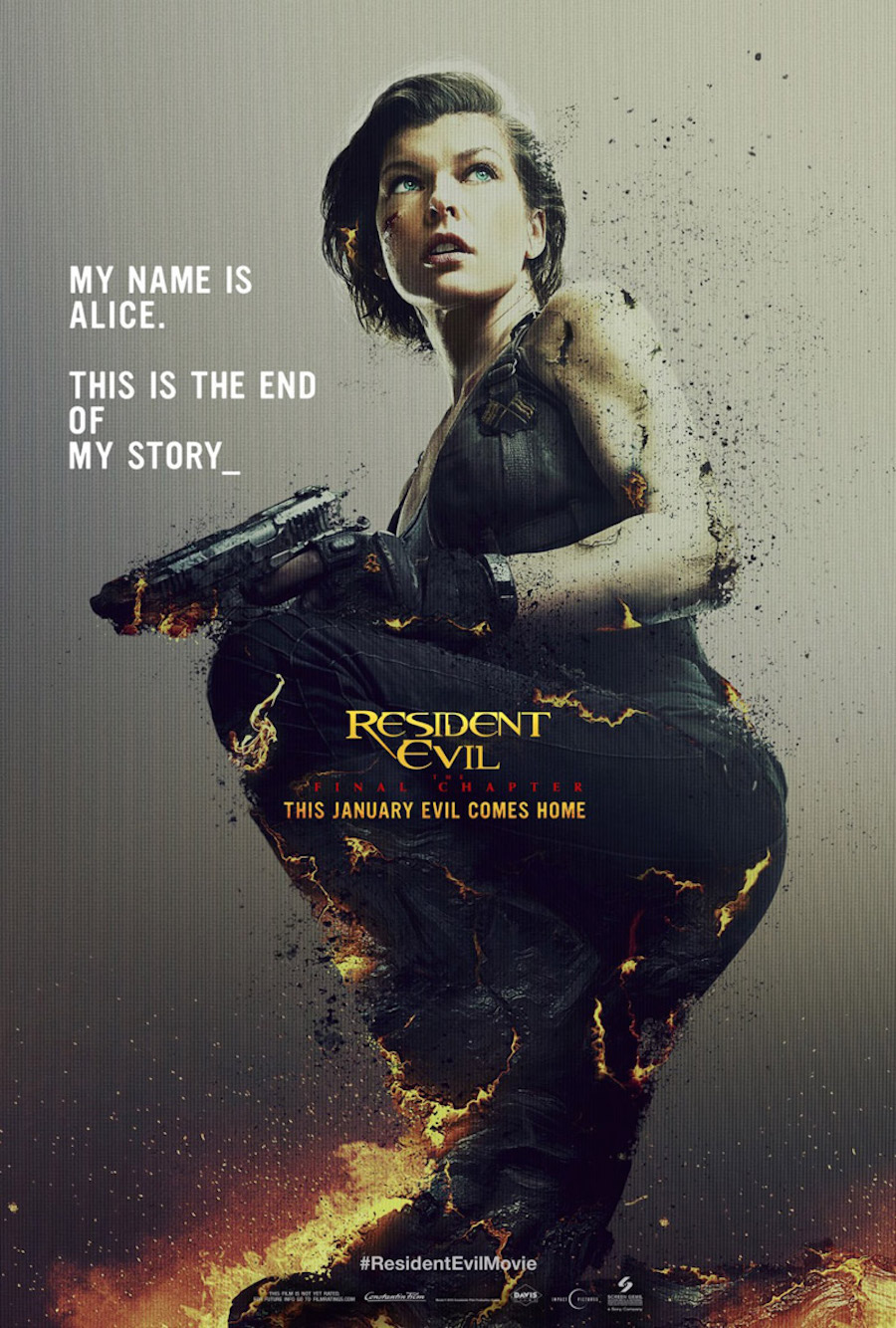 Póster de Resident Evil: The Final Chapter