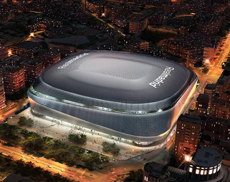 Santiago Bernabéu será remodelado