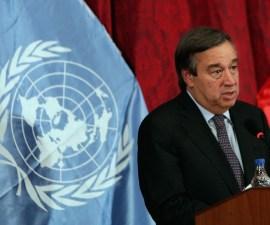 El exprimer ministro de Portugal, António Guterres, ha sido elegido como nuevo Secretario General de la ONU