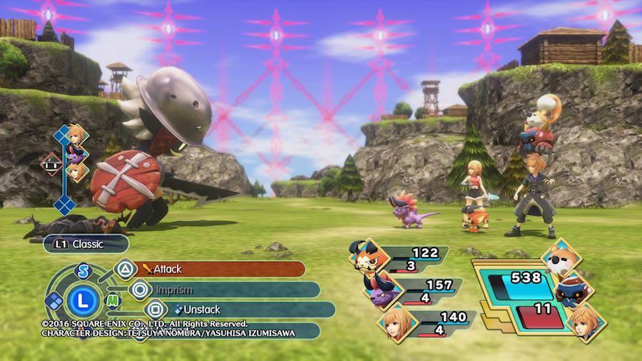 World of Final Fantasy Pila