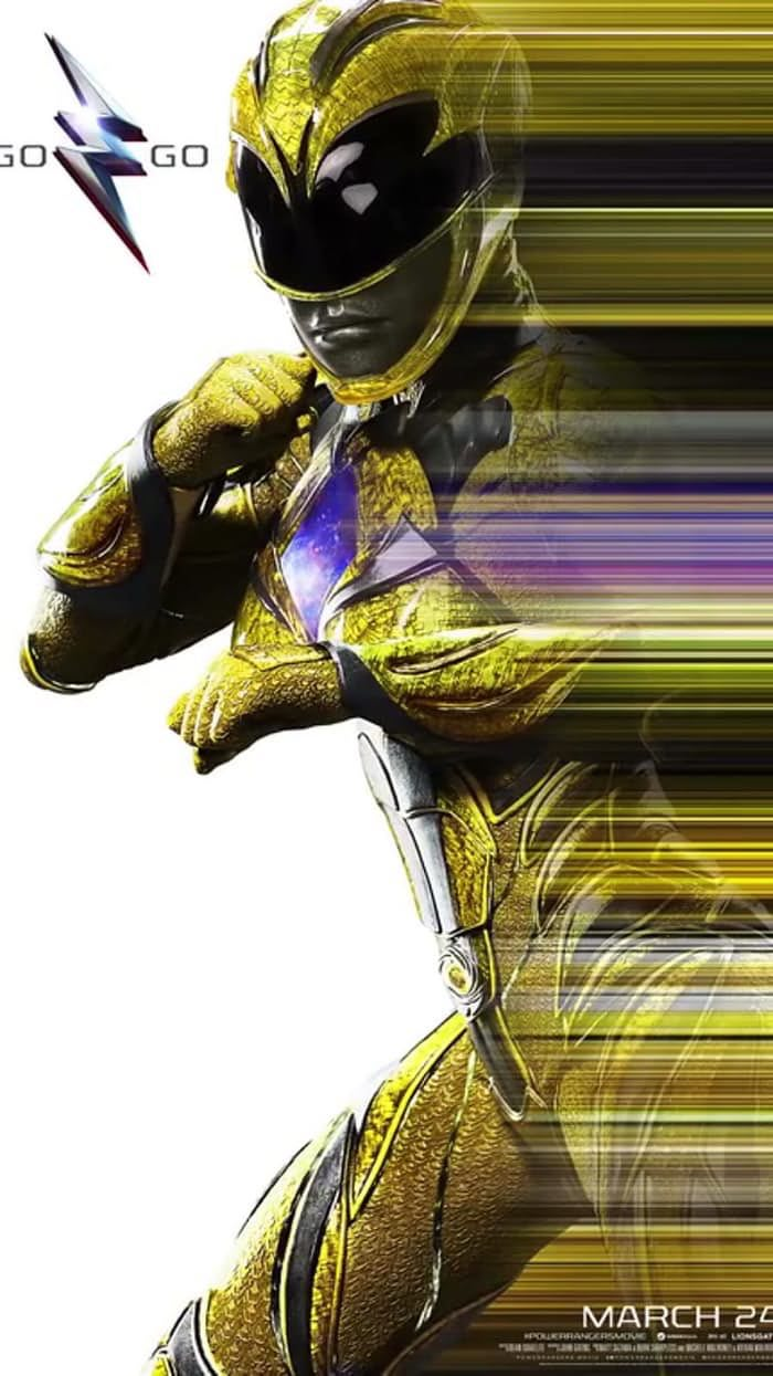yellow-ranger-poster