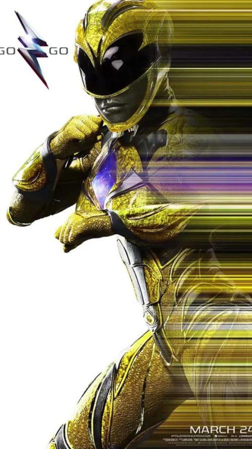 yellow-ranger-poster