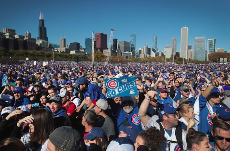 Fans desfile Chicago