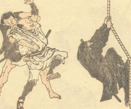 Ninjas en un pergamino