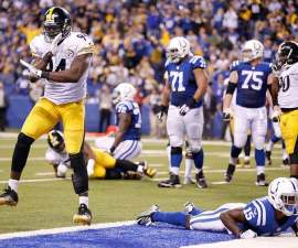 Pittsburgh Steeleres gana en Thanksgiving
