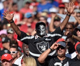 Oakland Raiders fans