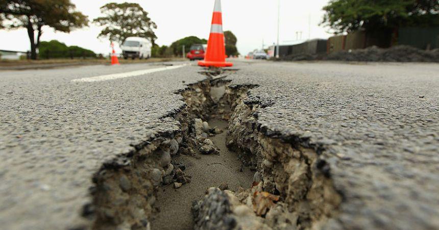 Terremoto en Nueva Zelanda.