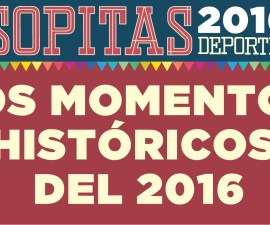 Momentos Históricos en del deporte 2016