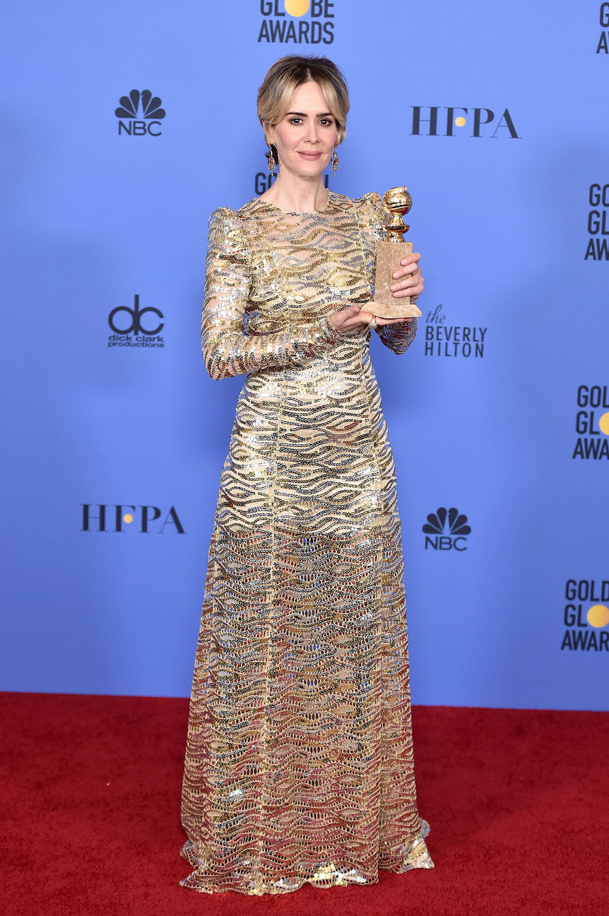 Sarah Paulson Golden Globes