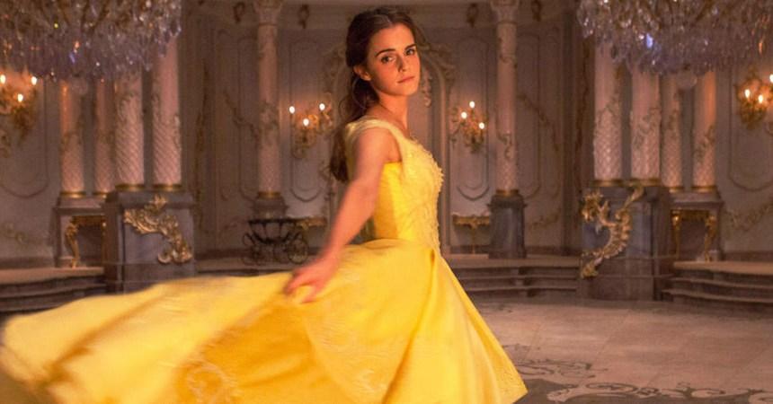 Emma Watson como Belle