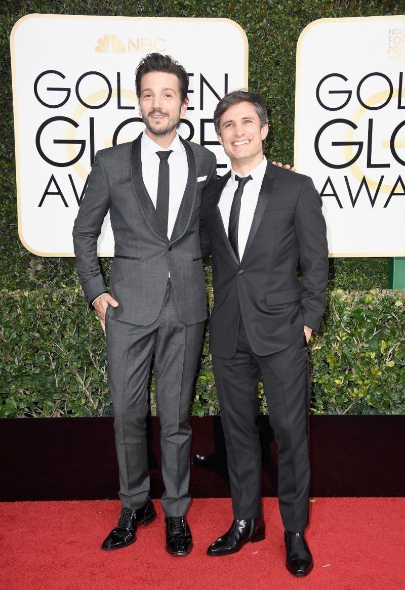 Gael García y Diego Luna en la Alfombra Roja