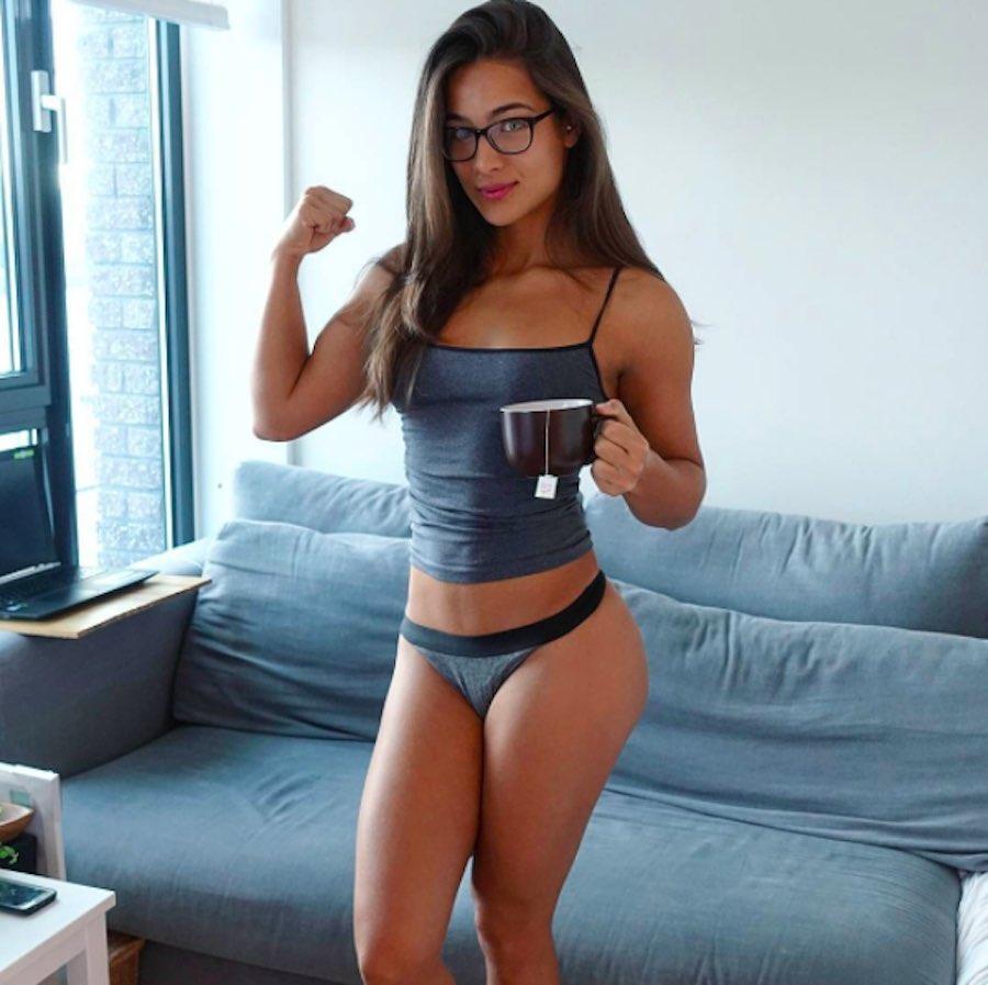 La guapa Nochtli Peralta