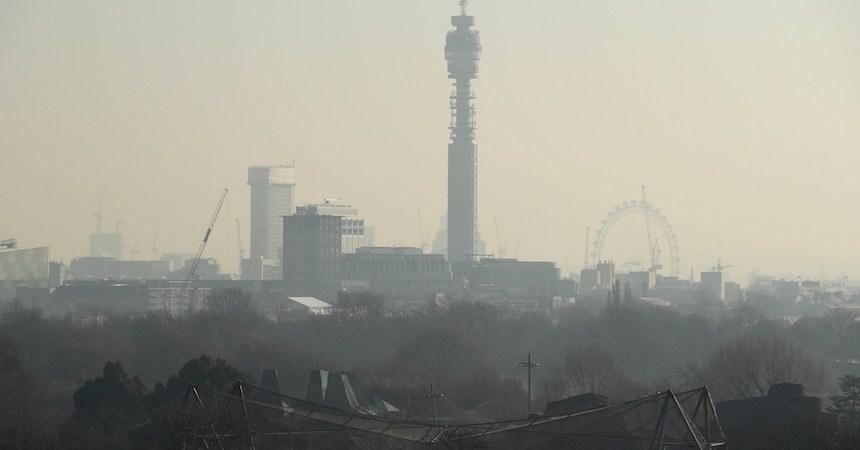 Contaminación en Londres