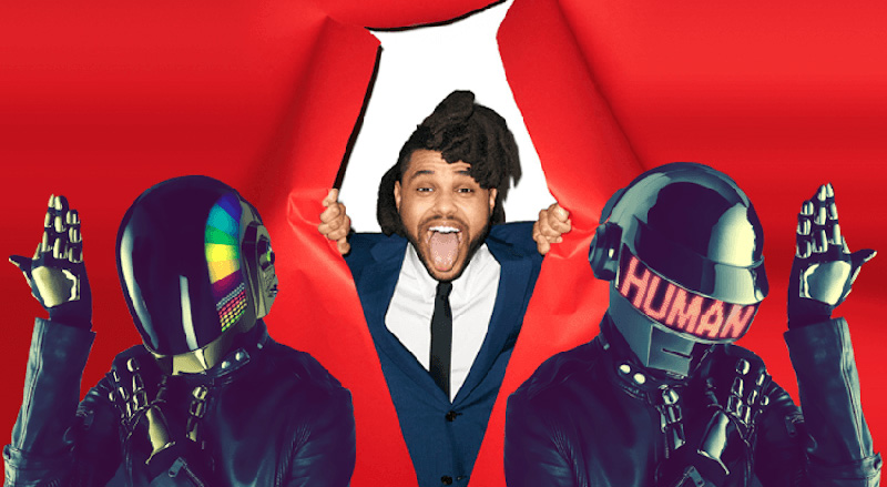 Daft Punk The Weeknd