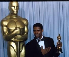Denzel Washington en los Oscar de los 90