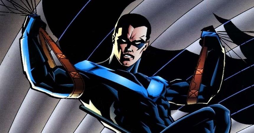 Nightwing en los cómics