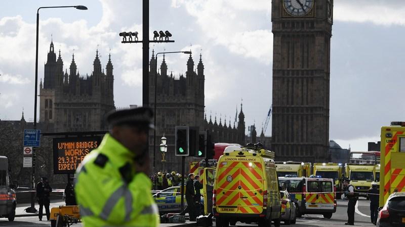 Ataque Parlamento Britanico