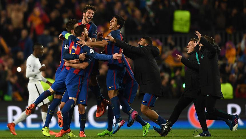 Barcelona en la Champions League