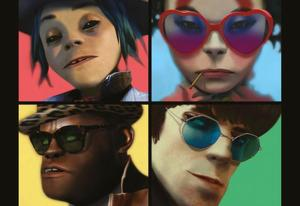 Damon Albarn, Noel Gallagher y el triunfal regreso de Gorillaz