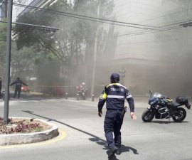 Incendio en Masaryk, Polanco