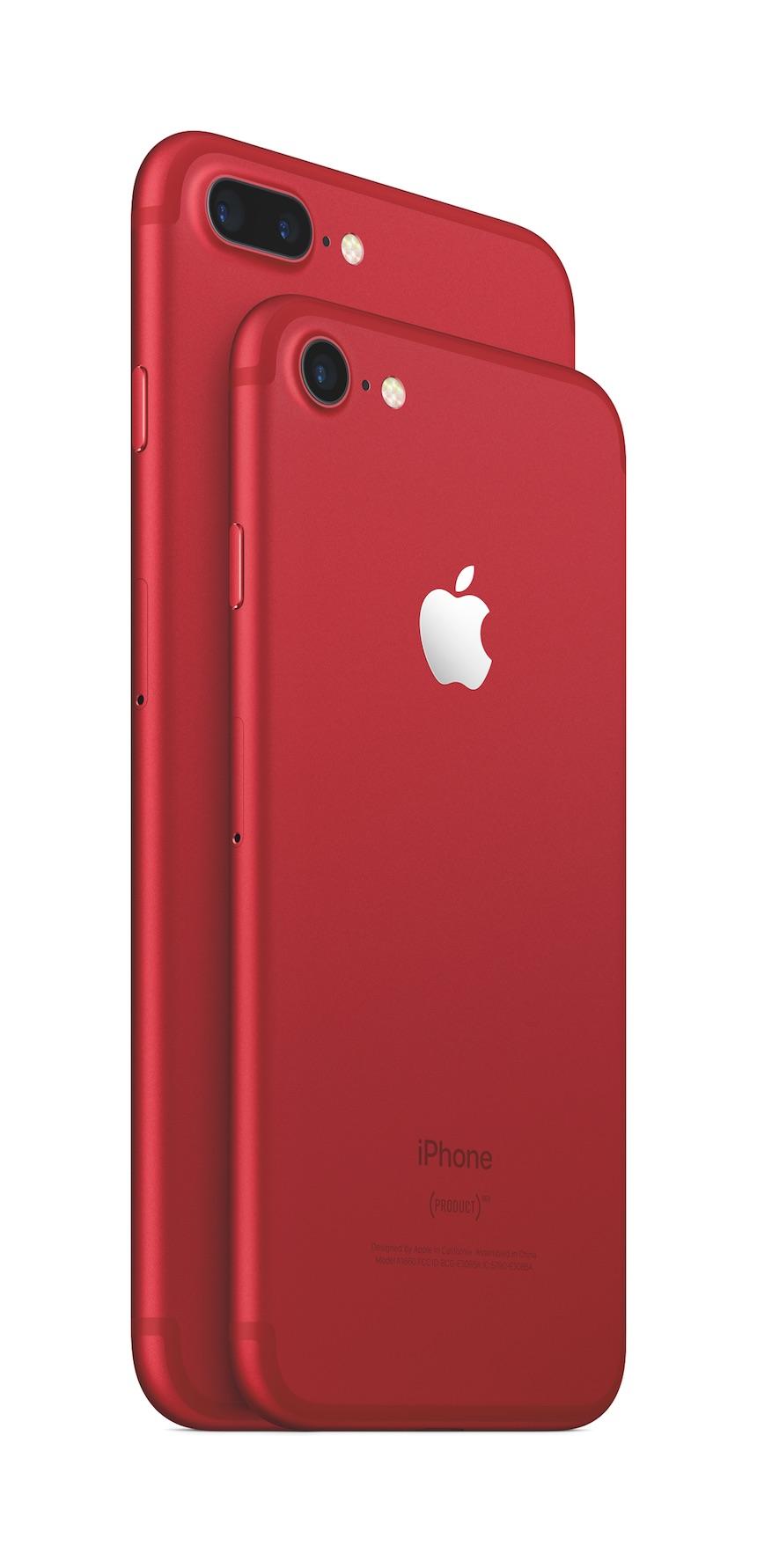Apple silikonskal iphone 7 red