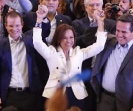 Josefina Vázquez Mota, candidata del PAN a la gubernatura del Edomex
