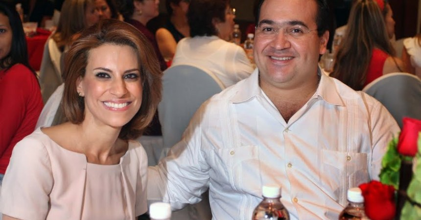Karime Macías y Javier Duarte