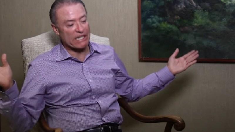 El gobernador de Sinaloa, Quirino Ordaz Coppel, entrevistado para NoroesteTV
