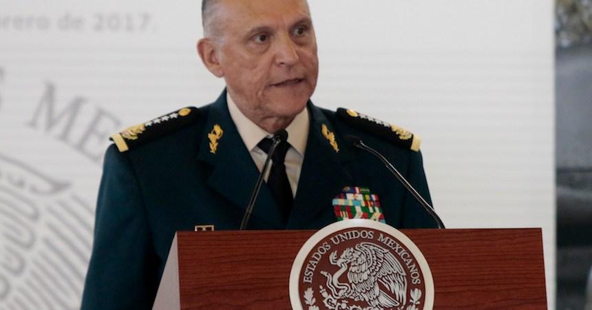 General Salvador Cienfuegos Zepeda, titular de la Secretaría de Defensa Nacional