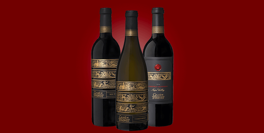 Vinos de Game of Thrones