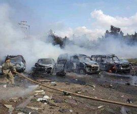 explosión en Alepo