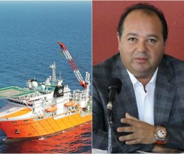 Amado Yáñez, dueño de Oceanografía