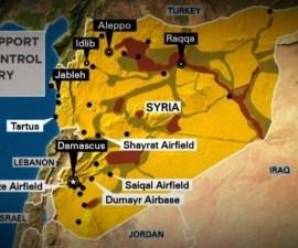 Ofensiva de Estados Unidos a Siria