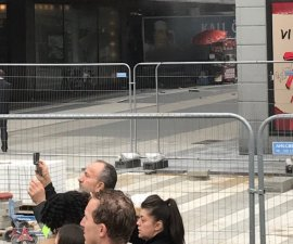 Un camión arrolló a una multitud en Estocolmo