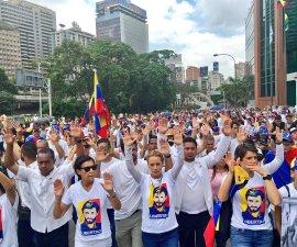 Marcha silenciosa en Caracas