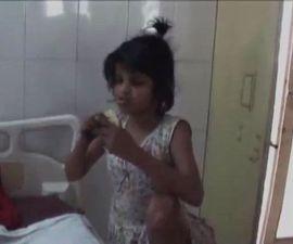 La niña Mowgli