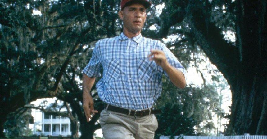 Forrest Gump corriendo