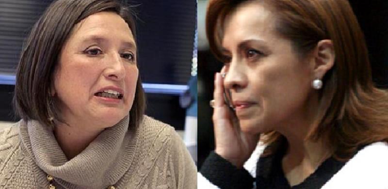 Xochilt Gálvez y Josefina Vázquez Mota