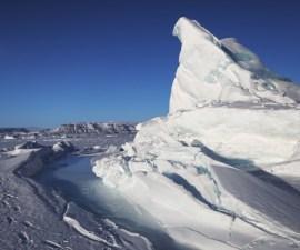 Icebergs al norte del Atlántico