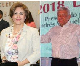 Eva Cadena, diputada local y candidata de Morena a la presidencia municipal de Las Choapas, Veracruz, recibió medio millón de pesos en efectivo para AMLO
