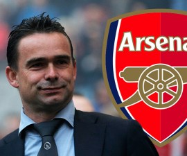 Marc Overmars al Arsenal