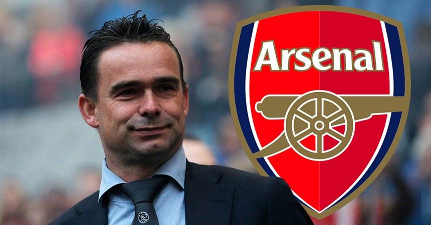 Marc Overmars al Arsenal