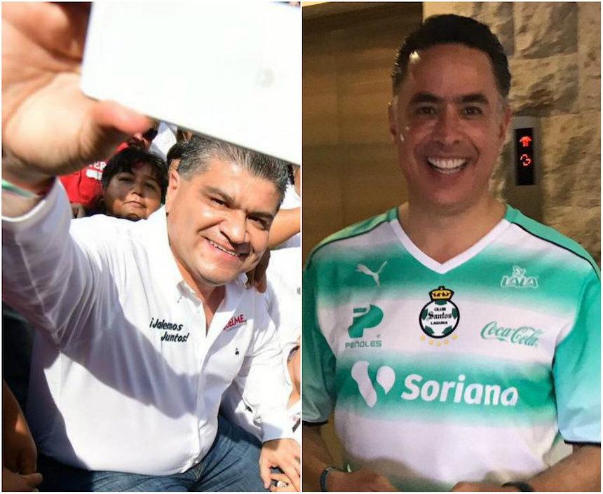 Miguel Riquelme y Guillermo Anaya, candidatos a la gubernatura de Coahuila