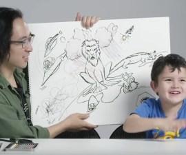 Niños describen su versión de dios