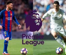 Simulación de la Premier League con Barcelona y Real Madrid