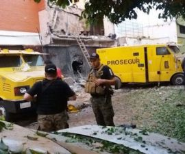 Asalto de película a Prosegur, en Paraguay