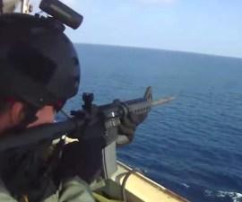 Piratas somalíes vs Guardias de seguridad privada