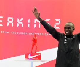 Eliud-Kipchoge corre un maraton en 2 horas