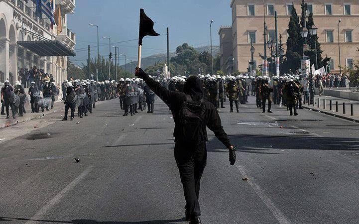 Anarquía en Grecia